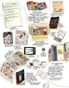 Jillian Tamaki Trash the Block Essay for Print Magazine