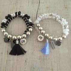 Discover recipes, home ideas, style inspiration and other ideas to try. Tassel Bracelet, Tassel Jewelry, Rope Necklace, Bohemian Jewelry, Beaded Jewelry, Jewelry Necklaces, Beaded Bracelets, Bangles, Handmade Accessories