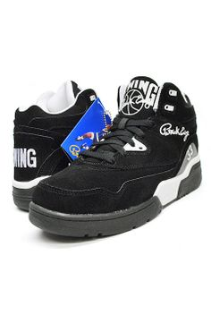 huge selection of f6740 bac2e EWING ATHLETICS (ユーイング アスレティクス) EWING GUARD RETROスニーカー バッシュBLACK WHITE