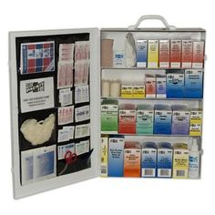 Other First Aid: Pac-Kit 4-Shelf Industrial First Aid Station -> BUY IT NOW ONLY: $163.44 on eBay!