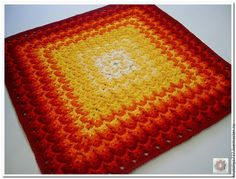 Текстиль, ковры ручной работы. Ярмарка Мастеров - ручная работа. Купить Разноцветный вязаный ковер ручной работы из шнура Италия-2. Handmade.