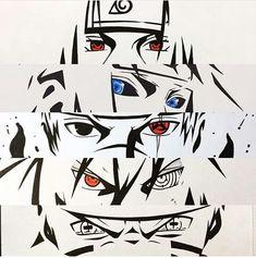 Immagine di itachi, kakashi, and naruto