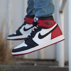 """Air Jordan 1 Retro High """"Black Toe"""""""