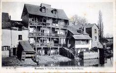 RENNES - Vieilles Maisons du Pont Saint Martin - Vers 1905