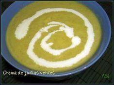Una Fiera en mi cocina: Crema de judías verdes (th 31)