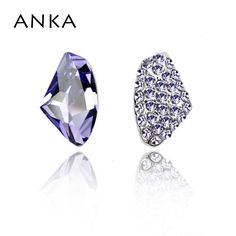 7d1714863 ANKA 2017 limited luxury crystal stud earrings for women jewelry earrings  crystals from Austrian brinco wholesale price #80131-in Stud Earrings from  Jewelry ...
