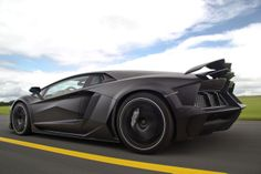 Most Amazing Cars, Mansory Carbonado Aventador - Carbon fibre is a...
