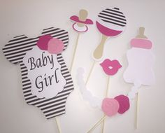 Kate Spade Baby Shower Props /Black and White by 2barndoors