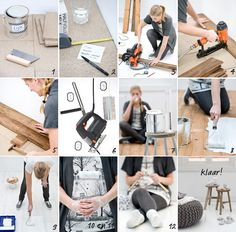 Vind je een oude houten vloer mooi, maar dan wel opgefrist? In een paar stappen leg je hem en verf je hem - slijtvast - wit. Bekijk hier hoe je een houten vloer wit kunt verven.