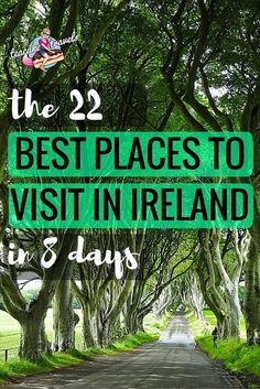 The Most Amazing 22 Best Places To Visit In Ireland In One Week Places to travel 2019 Hello curious Ireland adventurer! Looking for the best places to visit in Ireland? Come check these 22 beauties out in 8 days! England Ireland, Galway Ireland, Cork Ireland, Ireland Food, Best Of Ireland, Ireland With Kids, Reisen In Europa, Ireland Vacation, Honeymoon In Ireland