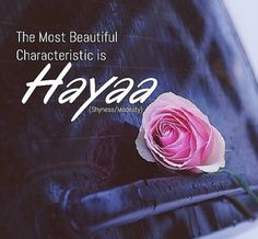 The most beautiful characteristic