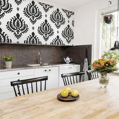 Möbelfolie für die Küche online kaufen | Bilderwelten.de Shabby Vintage, Home Living, Double Vanity, Walls, Furniture, Home Decor, Kitchens, Style, Hanging Wallpaper