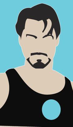 Tony Stark, me parece qeu amrcha una remera con esto.