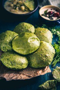 Palak Puri Recipe, How to make Palak Puri - Whisk Affair