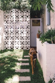 41 Flawless Breeze Blocks Design Ideas For Elegant Home, Style At Home, Exterior Design, Interior And Exterior, Breeze Block Wall, Wall Design, House Design, Elegant Homes, Beautiful Homes, Backyard