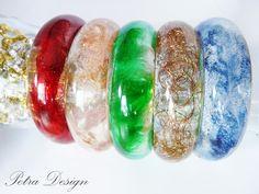Resin art. Resin bracelet. DIY jewelry. #resinbracelet #jewelry #petradesign
