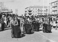Corrida dos ofícios - cantoneiros, Lisboa (A.Serôdio, 1953)