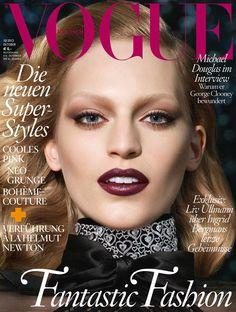 Vanessa Axente para Vogue Germany, Octubre 2013