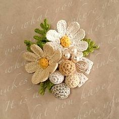 Cosmos rung động vào mùa thu gió và trâm nut nut (cream × beads) image 1
