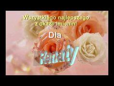 Renata. Piosenka, prezent na imieniny dla Renaty - YouTube Youtube, Polo, Polos, Tee, Youtubers, Youtube Movies, Polo Shirt