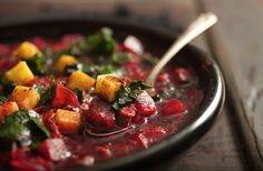 Beets-With-Greens Borscht Recipe - NYT Cooking