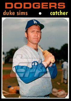 1971 Baseball Card Update: 1971 Los Angeles Dodgers (2nd): 89-73, .549, 1GB
