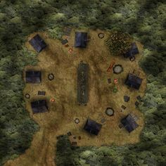 Forest advanced Royal Army Camp pop44 hills trail