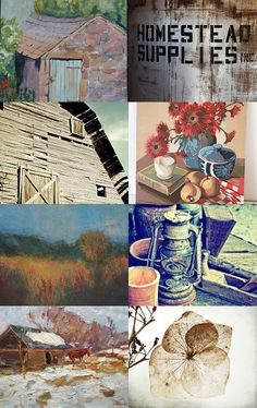 Farm in the Dale by Linda Voth on Etsy--Pinned with TreasuryPin.com