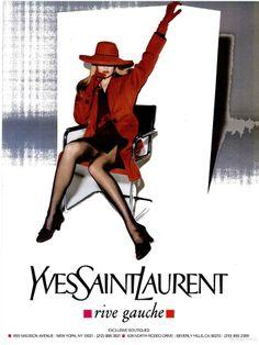 Yves Saint Lauren Fall 1994 - Karen Mulder