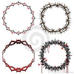 Imagem: Coroas De Espinhos Fotos de Stock - Imagem: 7980743