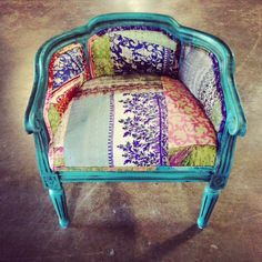 Add a little #Flair with this #Chair! #Furniture #Nadeau #FWAS