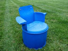 Upcycled 55 Gallon Drum Furniture Chair | Projects Using 55 Gallon Drum