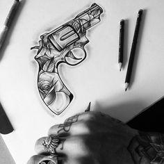 Tattoos And Body Art tattoo gun Form Tattoo, Epic Tattoo, Badass Tattoos, Cool Tattoos, Mini Tattoos, Body Art Tattoos, Sleeve Tattoos, Piercing Tattoo, Tattoo Sketches