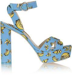 Banana-print platforms