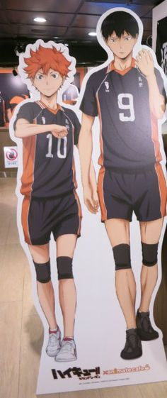 kagehina | Tumblr THEY ARE HOLDING HANDS OH MY GOD!!! Well at least it very much so looks like it .. whatever imma fangirl over it now