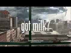 """What stops The Rock from getting his little girl's milk? Certainly not the apocalypse. 2013 Milk Mustache """"got milk?"""" Super Bowl Ad with Dwayne """"The Rock"""" Johnson The Rock Dwayne Johnson, Rock Johnson, Dwayne The Rock, Got Milk Ads, Teaching Social Skills, Funny Commercials, Great Ads, Social Thinking, Funny"""