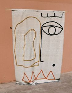 Textile artist and fashion designer, Laurence Leenaert. Click through for more incredible female artists you should be following right now. #artist #femaleartist #artwork #abstractart #faces
