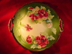 Limoges Antique Cake Plate #Limoges