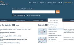 Hub Link Building With Majestic SEO