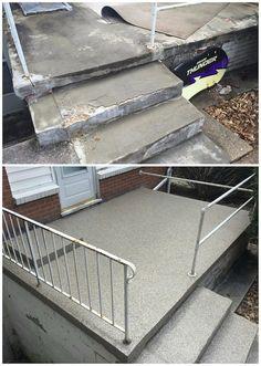 Concrete Repair Resurfacing Bedford New Hampshire