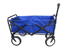 ABO Gear Collapsible Folding Utility Wagon Garden Cart Shopping Buggy Yard Beach Cart Blue  ABO Gear Collapsible Folding Utility Wagon Garden Cart Shopping Buggy Yard Beach Cart Blue   ABO Gear Collapsible Folding Utility Wagon Garden Cart Shopping Beach Cart  , Folds and Stores conveniently No Assembly Required - Just un-fold and GO! It opens in seconds. A must-have for fairs, parades, concerts, garage sales, transporting fishing gear from vehicle to docked boat... you name it. Buil..