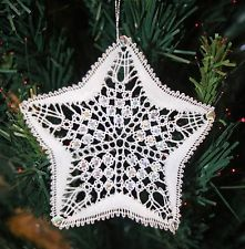 Twinkle Twinkle Star Torchon Bobbin Lace Pattern Lacemaking *PATTERN ONLY*