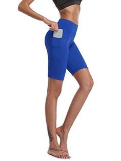 Cadmus Womens High Waist Stretch Running Workout Shorts with Pocket Short Outfits, Casual Outfits, Upper Leg Muscles, Big Thighs, Running Workouts, Shorts With Pockets, Cross Training, Workout Shorts, High Waisted Shorts