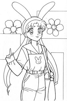 Sailor Moon Coloring Pages, Beautiful Creatures, Anime, Art, Free Coloring, Art Background, Kunst, Cartoon Movies, Anime Music