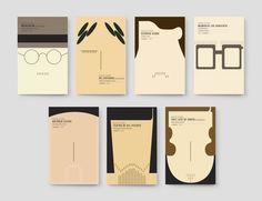 LER MELHOR Book Cover Series by FBA., via Behance