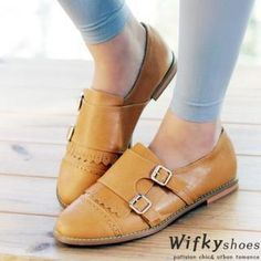 Buy 'Wifky – Buckled Perforated Loafers' with Free International Shipping at YesStyle.com. Browse and shop for thousands of Asian fashion items from South Korea and more!