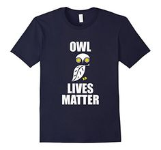 Men's OWL LIVES MATTER T Shirt- Owl Shirt  2XL Navy Limit... https://www.amazon.com/dp/B01MTKLYHB/ref=cm_sw_r_pi_dp_x_.ppjyb9Z1669T