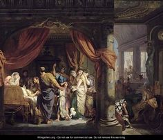 The Death of Germanicus by Gerard de Lairesse