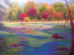 Autumn Serenity by Nancy Gregg Oil ~ 18 x 24