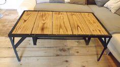Table basse style industriel par latelierdu10bis sur Etsy
